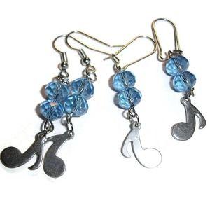 Musical Earrings Music Note earrings